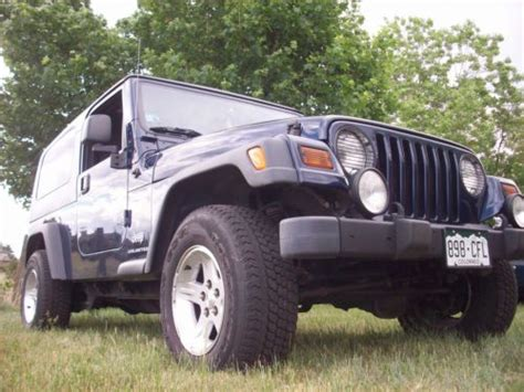 lj jeep for sale purchase used 2006 jeep wrangler unlimited lj tju with