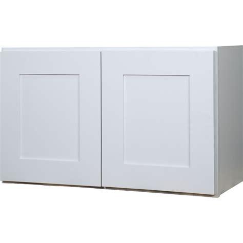 36 inch cabinet doors everyday cabinets 36 inch white shaker double door bridge