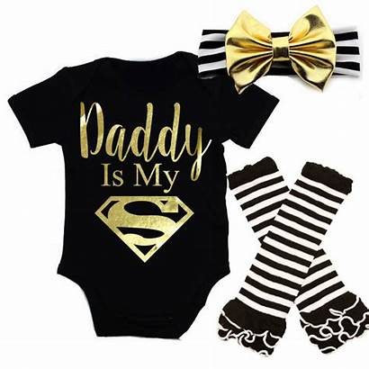 Daddy Outfits Newborn Superman Clothes Clothing Outfit