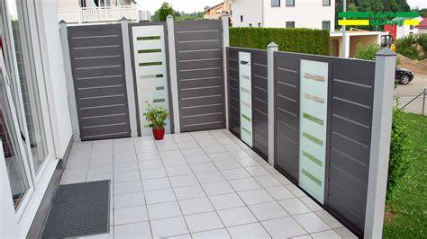 Alu Sichtschutz Günstig by Alu Sichtschutz Pulverbeschichtet Stabil Und