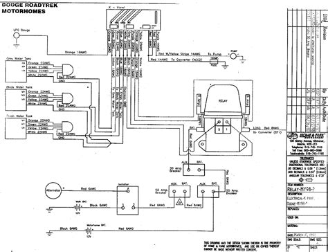 Wireing Diagram For Back Up For Motor Home by Roadtrek 1996 Popular Dc House Wiring
