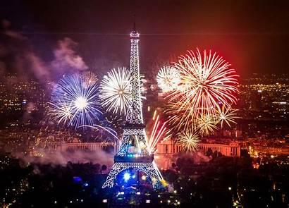Paris Events Fireworks France Festival Juillet Le