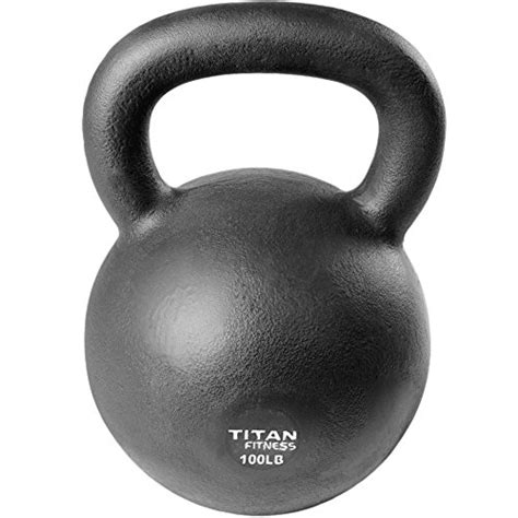 kettlebell iron weight cast lb workout fitness titan swing solid natural