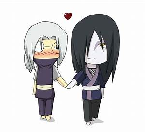 orochimaru and kabuto chibi by minai28 on DeviantArt