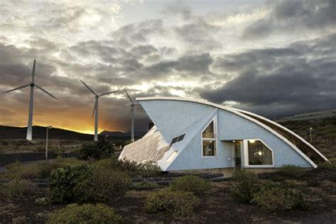 solar  wind powered crab house  spain tiny house pins
