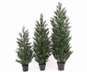 Künstliche Pflanzen Für Den Außenbereich : wetterfeste kunstpflanzen als zypressen baum mit 150cm kaufen ~ Michelbontemps.com Haus und Dekorationen