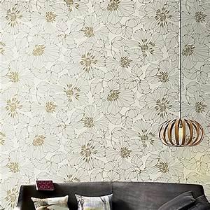 Aliexpresscom : Buy Behang Modern American Rustic Floral ...