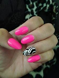 Pink Almond Nails | www.pixshark.com - Images Galleries ...