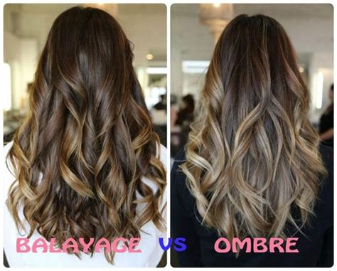 what is balayage color the difference between balayage ombre hair coloring guide