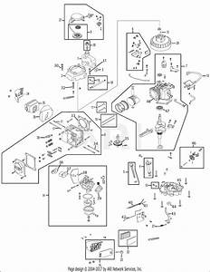 Mtd 1p65m0 Engine Parts Diagram For Engine Assembly 1p65m0