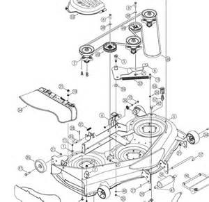 deck belt diagram yard man 50 quot images frompo