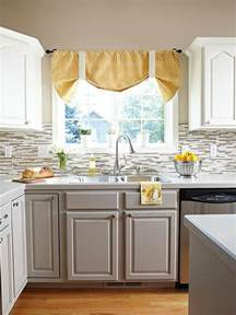 small kitchen paint color ideas stylish two tone kitchen cabinets for your inspiration
