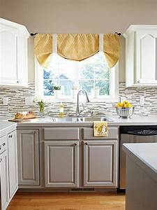 stylish two tone kitchen cabinets for your inspiration With kitchen colors with white cabinets with car name stickers
