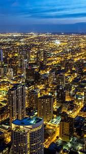 chicago, 4k, wallpaper, , illinois, , city, skyline, , night, , cityscape, , blue, sky, , night, lights