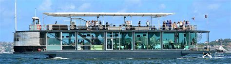 Glass Boat Sydney Harbour Cruise by Starship Aqua Boat Hire Private Boat Charter Sydney