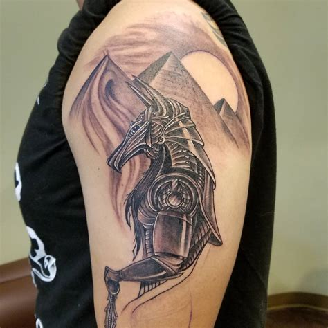 85+ Incredible Anubis Tattoo Designs  An Egyptian Symbol