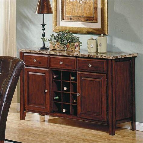 kitchen buffet table steve silver company montibello wine rack server mn500sv