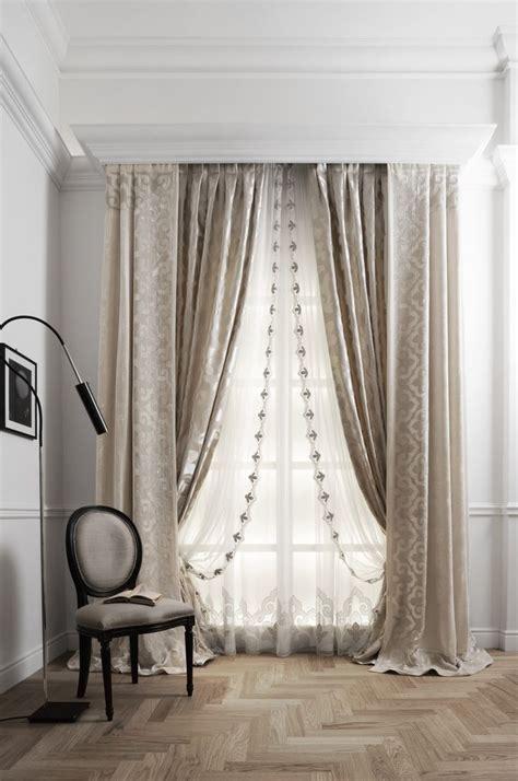 best layered curtains ideas on window curtain