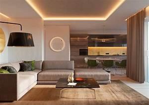 Eclairage Moderne : clairage indirect plafond 20 id es modernes pour une ambiance agr able ~ Farleysfitness.com Idées de Décoration