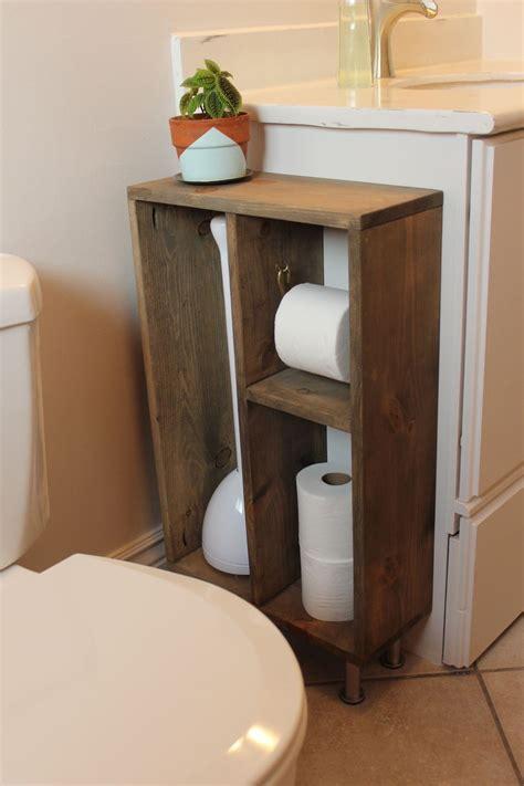diy bathroom shelves  increase  storage space