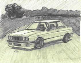 Car Pencil Drawings