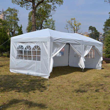 ktaxon   ez pop  gazebo wedding party tent folding canopy   sides wcarry bag