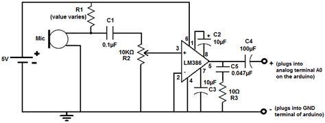 Microphone Amplifier Circuit Car Speaker Repair