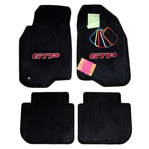 pontiac grand prix gtp floor mats custom made
