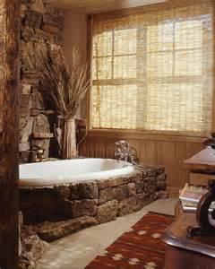 deko steinwand rustikale möbel 50 beispiele für moderne badmöbel im landhausstil