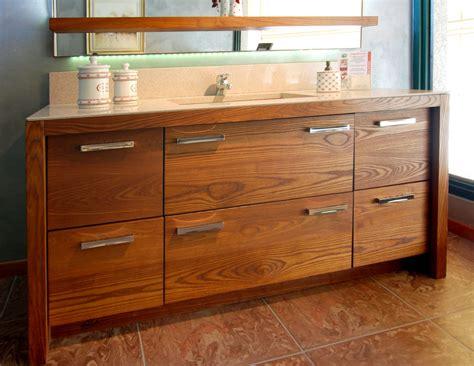 mobili di legno mobile bagno artigianale in frassino grandacasa