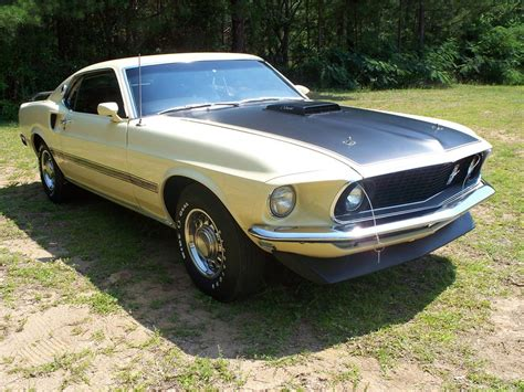 ford mustang mach 1 1969 1969 ford mustang mach 1 fastback 66021