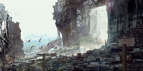 brave  world stunning digital sci fi concept