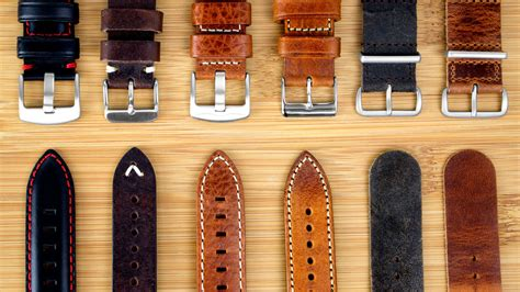 Leather Watch Straps & Leather Watch Bands (part 1