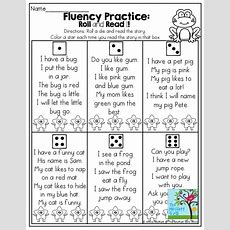 May No Prep Packet (kindergarten)  Fluency Kindergarten
