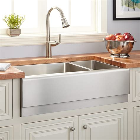 stainless steel farmhouse sink lowes 30 stainless steel farmhouse sink quartz sinks beautify