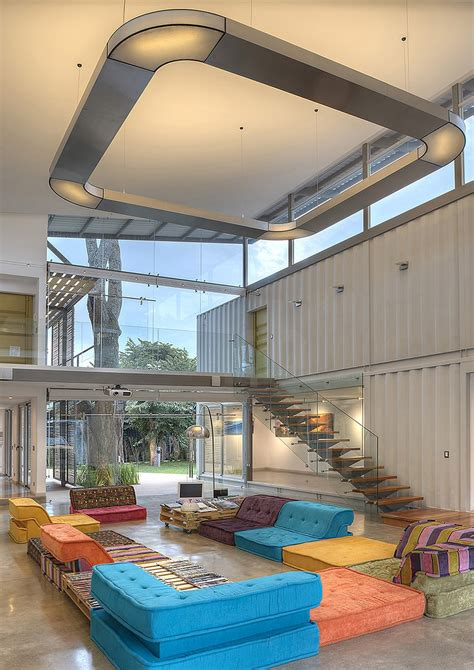 Spacious Shipping Container Home Exudes Stylish Sustainability