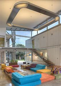 Spacious, Shipping, Container, Home, Exudes, Stylish, Sustainability