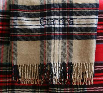 Throw Plaid Tartan Classic Blankets