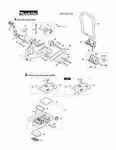 Buy Makita Dpc7331 14 Inch 73cc  Power Cutter Replacement