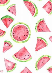 Richtig Coole Bilder : sommer sommer sommer ich liebe wassermelonen und dieses wasserfarben bild macht richtig lust ~ Eleganceandgraceweddings.com Haus und Dekorationen