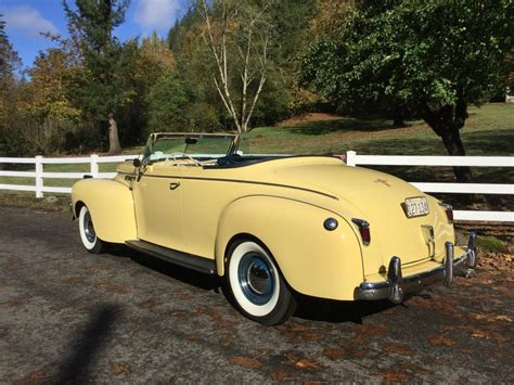 convertible cars for 1940 chrysler new yorker convertible for sale