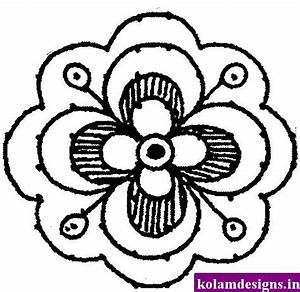 Easy To Draw Flower Designs - ClipArt Best