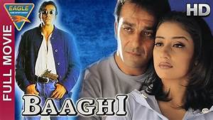 Baaghi Hindi Movie Starring Sanjay Dutt, Manisha Koirala ...
