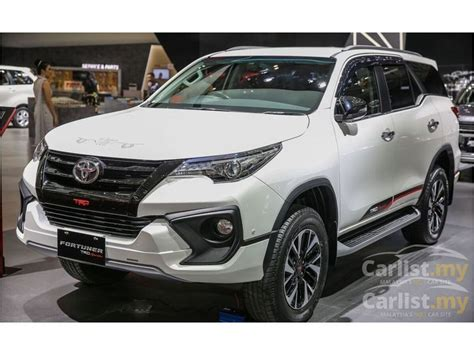 toyota fortuner 2018 vrz 2 4 in selangor automatic suv white for rm 190 600 4578236 carlist my
