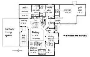 split entry floor plans craftsman style house plan 4 beds 2 5 baths 2500 sq ft