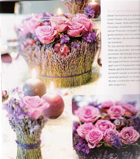 Tischdeko Mit Lavendel by 171 Am 05 03 2010 12 21