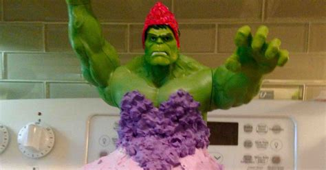Ee  Year Ee    Ee  Old Ee   Twins Wanted Hulk Princess Cake For Their
