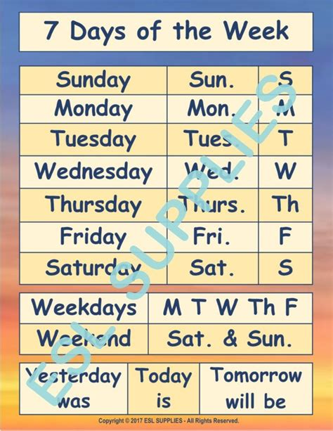 teach english learners  days   week weekdays