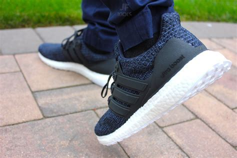 """Parley x adidas Ultra Boost """"Deep Sea"""" In Hand Review"""