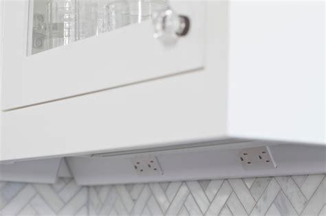 under cabinet power strip laurelhurst traditional kitchen seattle by rom